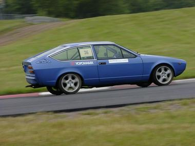 First testdrive at Ring Knutstorp summer 2002